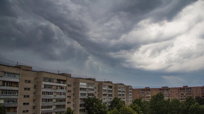МЧС предупредило о сильном ветре и грозе в Подмосковье