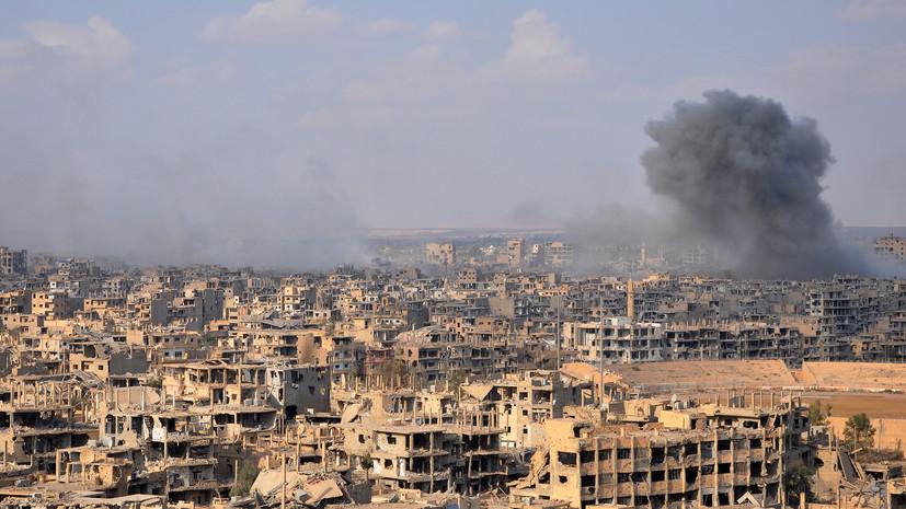В Минобороны рассказали о готовящейся провокации боевиков в Сирии