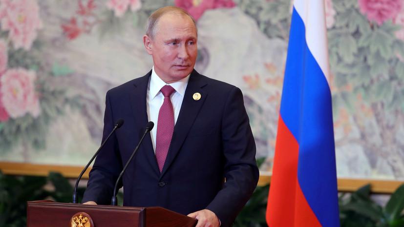 Путин рассказал о здоровье Собчака после поражения на выборах главы Петербурга