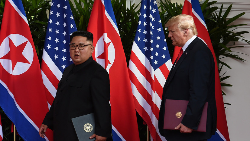 В Сингапуре завершился саммит США и КНДР
