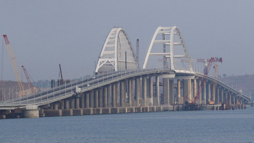 Аксёнов назвал Крымский мост визитной карточкой полуострова