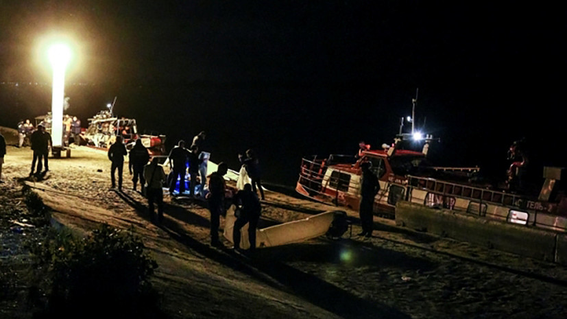 Капитан потерпевшего крушение на Волге катамарана был пьян