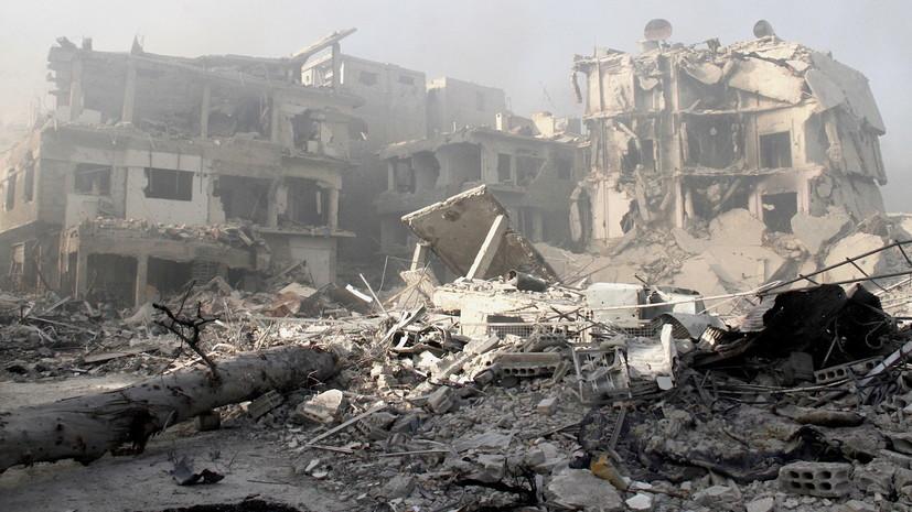 СМИ: В результате авиаудара коалиции США в Сирии погибли 12 человек