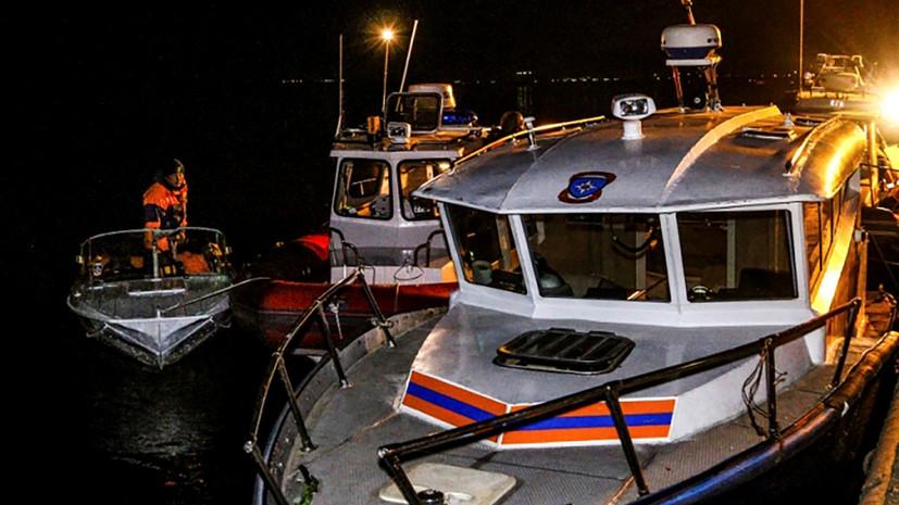 Расследование столкновения катамарана и баржи на Волге поставлено на контроль в центральном аппарате СК