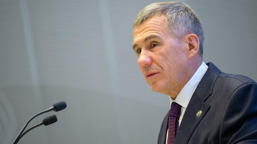 Глава Татарстана встретился с послом Дании в России
