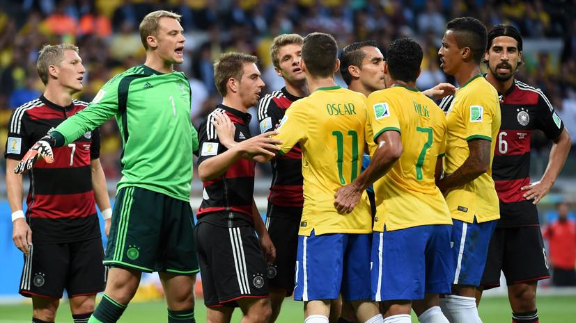 Моуринью: в матче за третье место ЧМ Бразилия отомстит Германии за поражение 1:7 в 2014-м