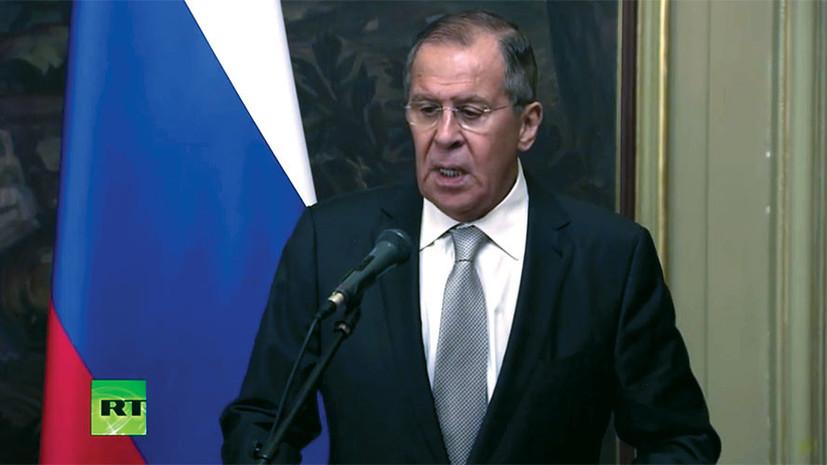 Лавров заявил, что Россия изучит договорённости США и КНДР