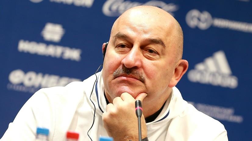 Черчесов рассказал о непопадании Джикии в состав сборной России по футболу