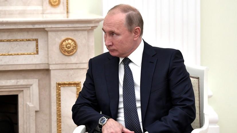 Путин рассказал о возможности увеличить добычу газа в Боливии