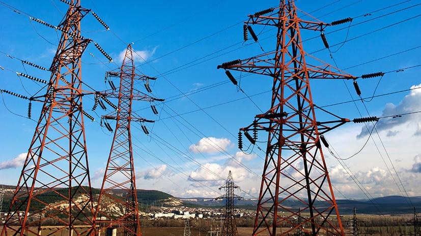 «Крымэнерго» выясняет причину отключения электричества на полуострове