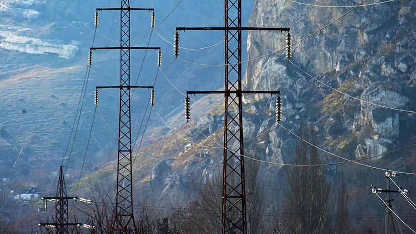 Названа предварительная причина отключения электричества в Крыму