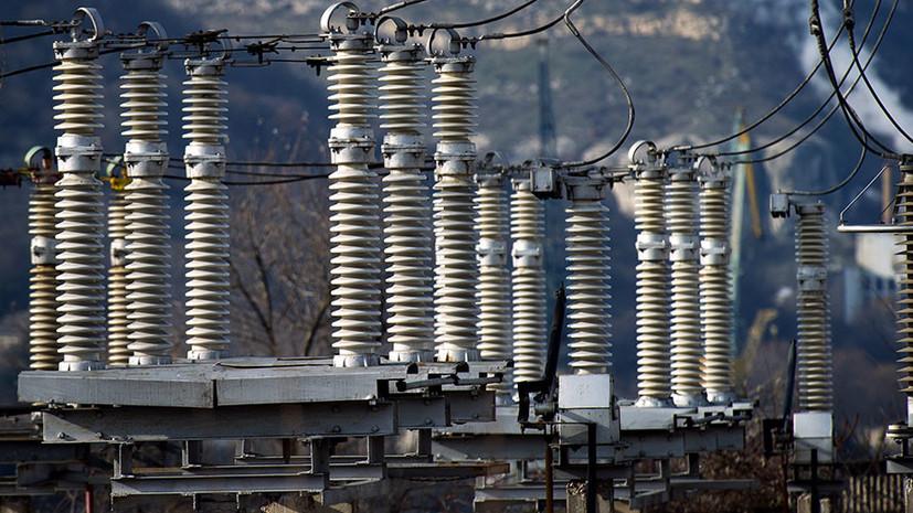 Работа энергомоста в Крым восстановлена