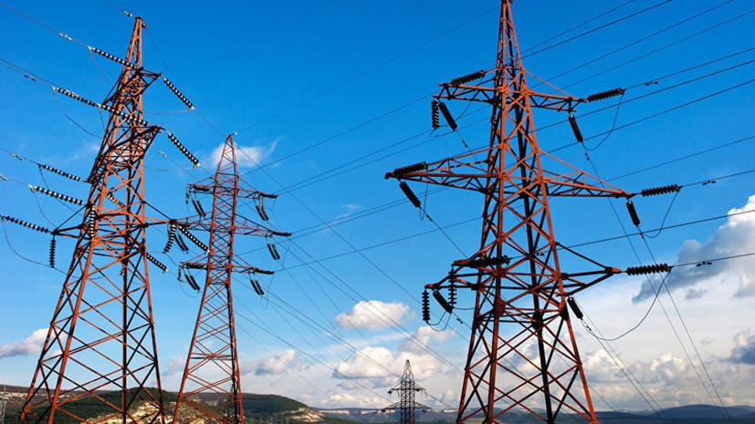 Энергоснабжение Крыма восстановлено