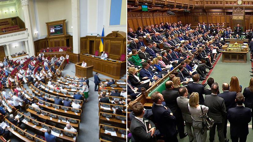 ВСовфеде оценили планы Рады привлечь Лондон для борьбы с«российской агрессией»
