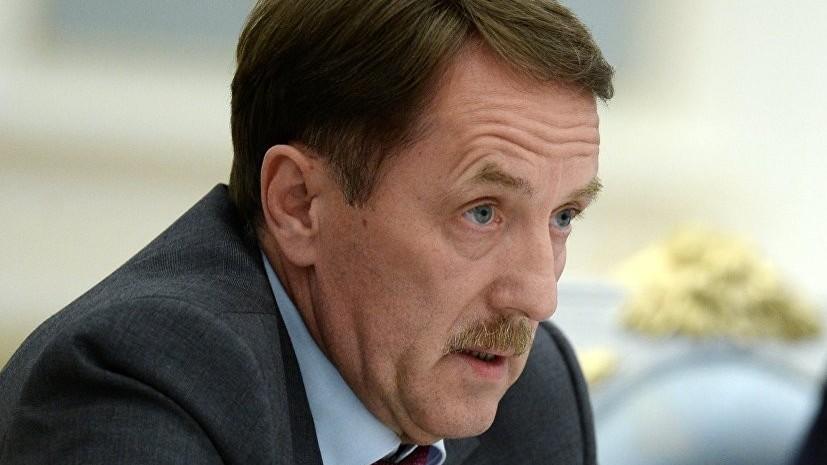 Гордеев рассказал о российском аграрном экспорте во время посещения РЭЦ