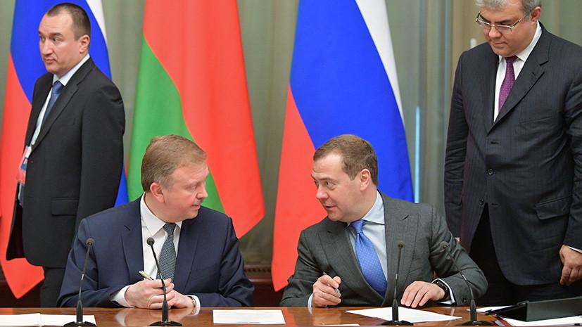 «Прагматический подход должен преобладать»: Россия и Белоруссия обсуждают переход на расчёты в нацвалютах