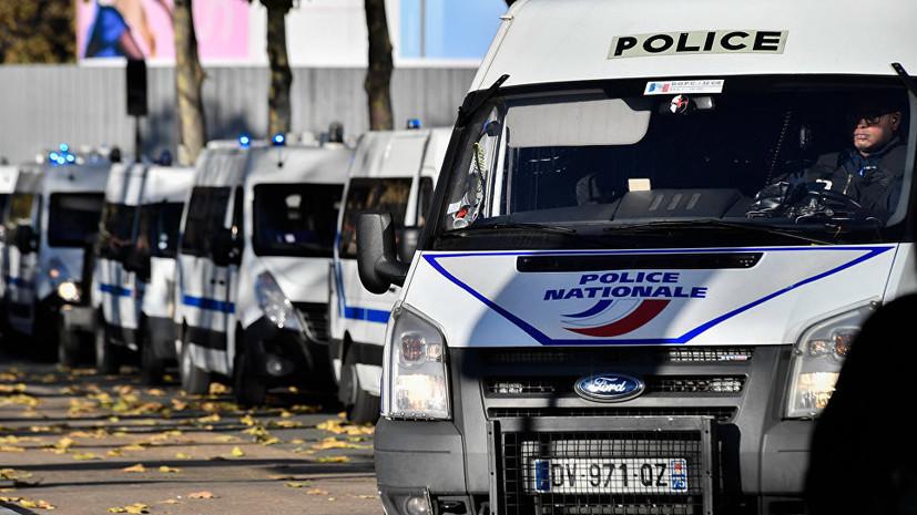 Во Франции заключённый захватил в заложники надзирателя