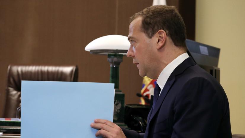Медведев рассказал о нехватке рабочей силы в России