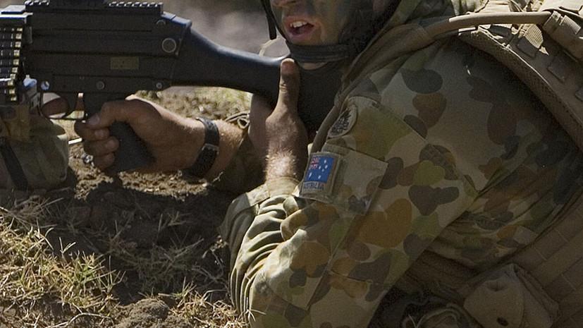 СМИ: В Афганистане австралийские военные разместили нацистскую символику на автомобиле