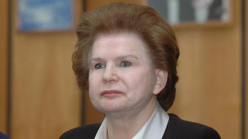 Терешкова заявила, что на Байконуре гибнет посаженное Гагариным дерево