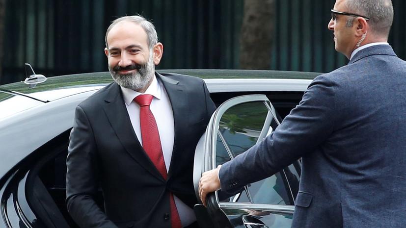 Премьер Армении рассказал, что Путин познакомил его с президентом Азербайджана