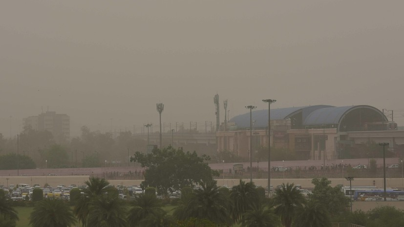В столице Индии приостановили все строительные работы из-за загрязнения воздуха