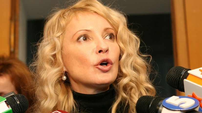 На Украине мужчина разделся перед Тимошенко во время её выступления