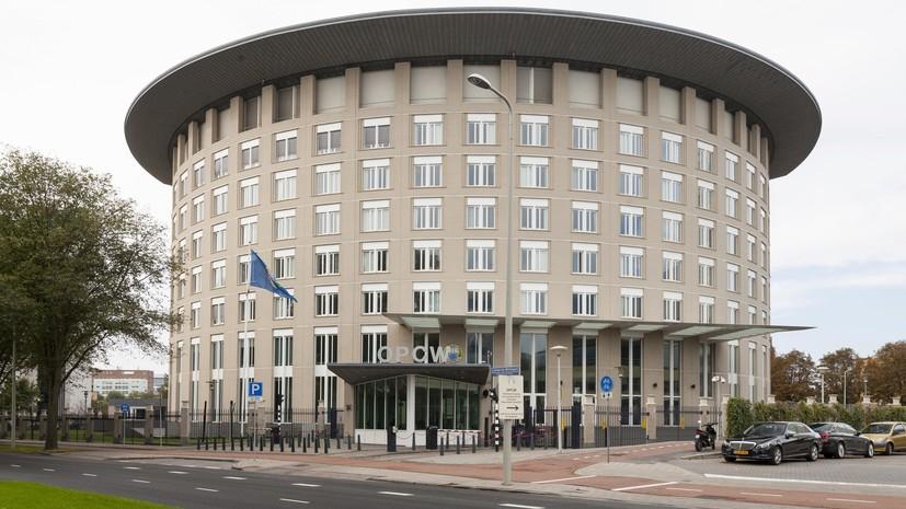 Правительство определило состав делегации России на конференции ОЗХО