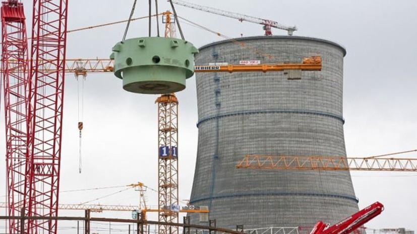 В «Росэнергоатоме» сообщили о выведении энергоблока №1 Ленинградской АЭС-2 на полную мощность