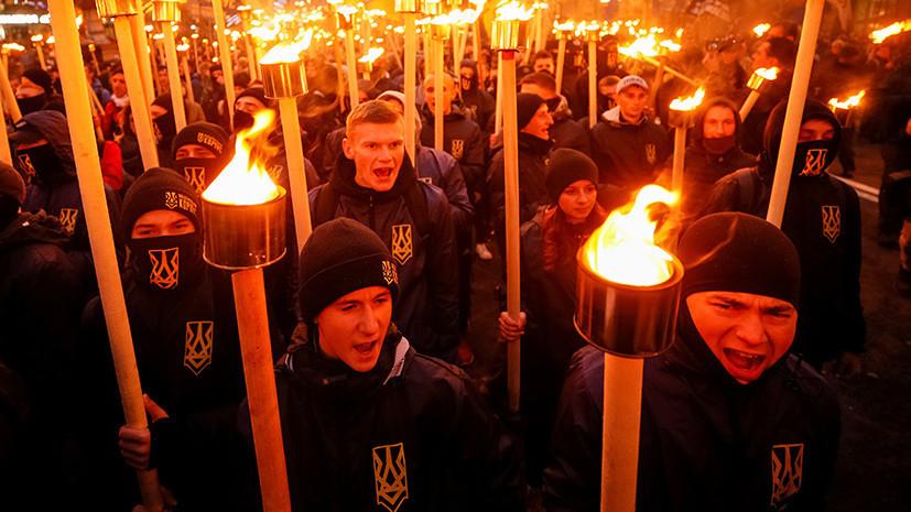 «Средство устрашения»: почему западные правозащитники обратили внимание на бесчинства украинских националистов