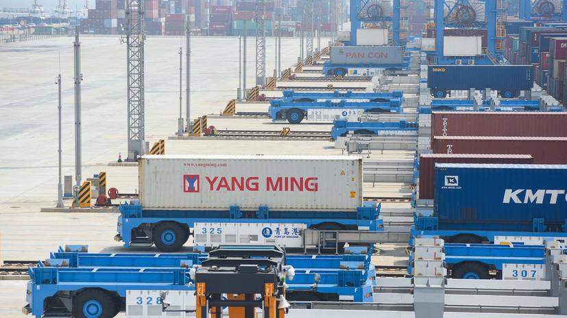 Китай объявил о введении пошлин на американские товары
