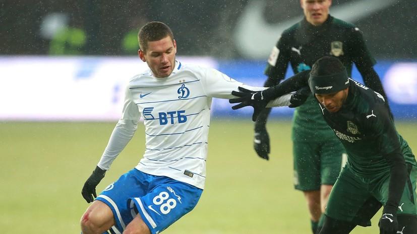 ВФСО «Динамо» подало в суд на футболиста Ташаева