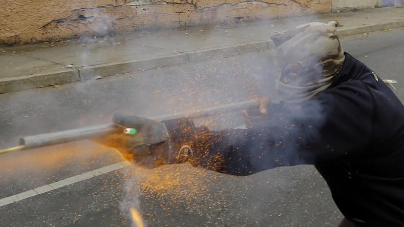 СМИ: Из-за применения гранаты со слезоточивым газом в клубе Каракаса погиб 21 человек