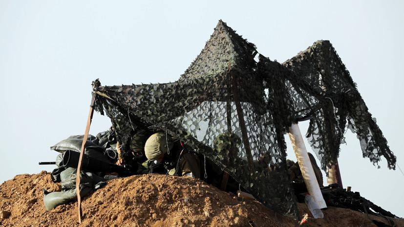 Армия Израиля нанесла удар в секторе Газа в ответ на запуск горящих воздушных змеев