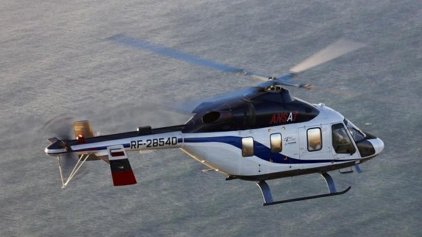 В Кировскую область поступил новый вертолёт для санавиации