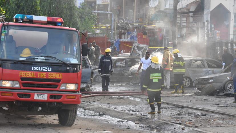 Втеракте вНигерии погибли неменее 30 человек