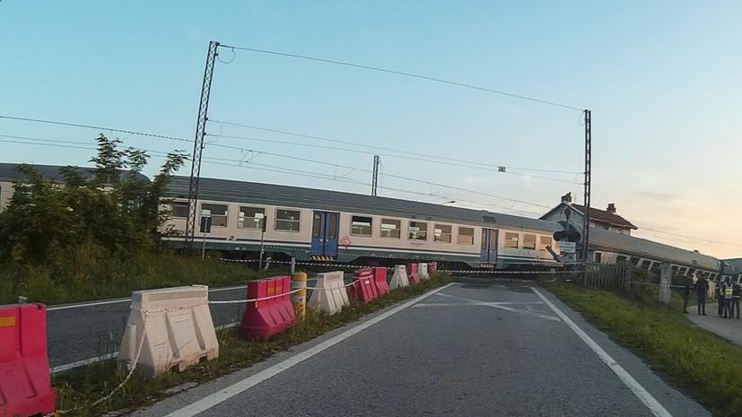 Уголовное дело возбуждено после крушения пассажирского поезда в Казахстане