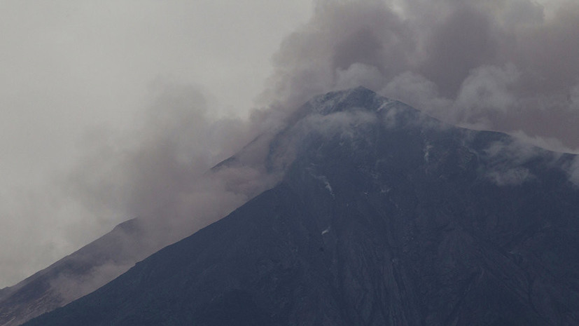 В Гватемале прекращают поисковую операцию после извержения вулкана
