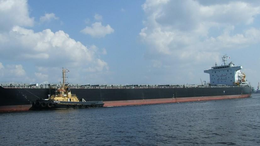 ВФинском заливе сел намель сухогруз судобрениями