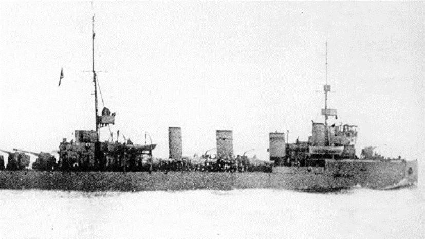 На дне Финского залива обнаружили эскадренный миноносец «Новик», затонувший в