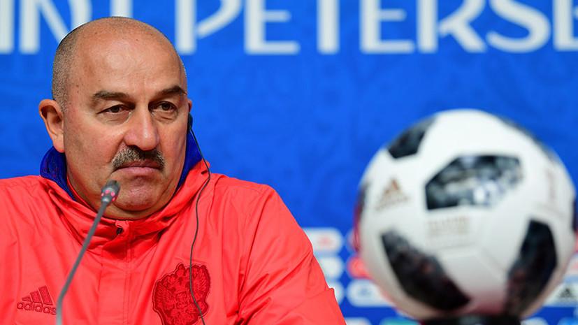 «Мы сможем сдержать Салаха»: Черчесов об игре с Египтом, о прогрессе Головина и о шансах сборной России