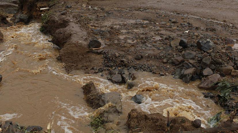 В Карачаево-Черкесии из-за сильных дождей произошёл сход селей