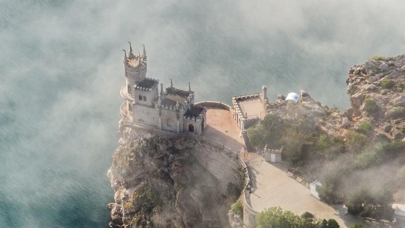 Число посетивших Крым туристов достигло почти 1,5 млн с начала года