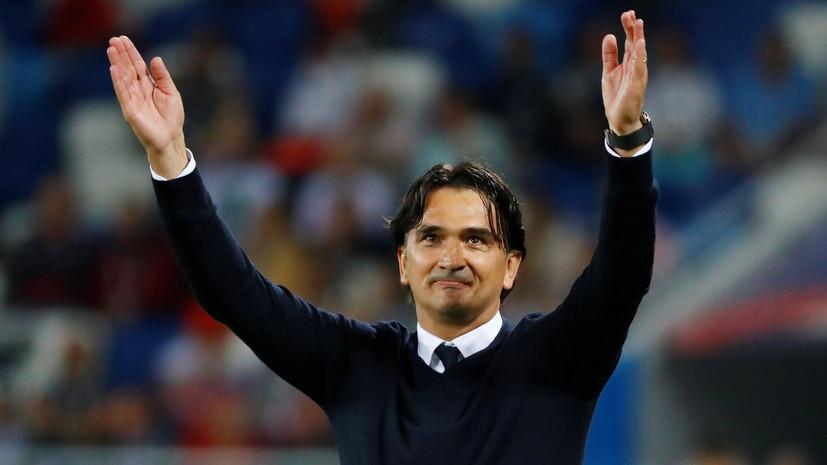Главный тренер сборной Хорватии подтвердил, что Калинич отчислен из состава команды на ЧМ-2018