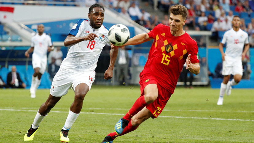 Видеообзор матча ЧМ-2018 по футболу Бельгия — Панама