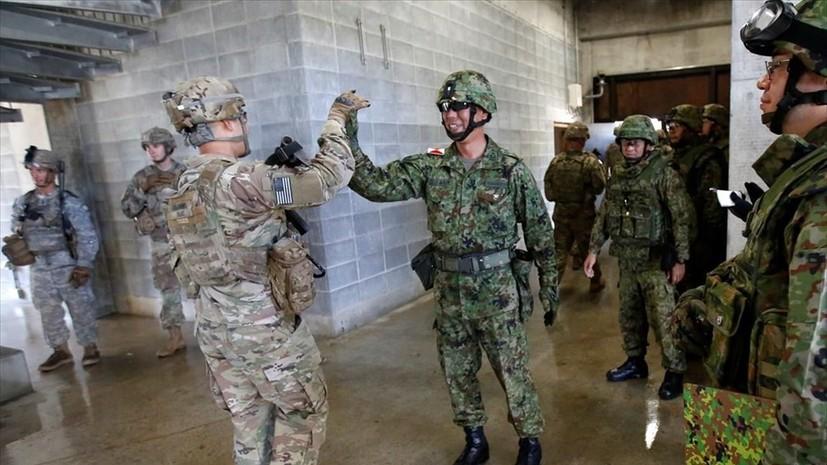 Япония и США продолжат совместные военные учения