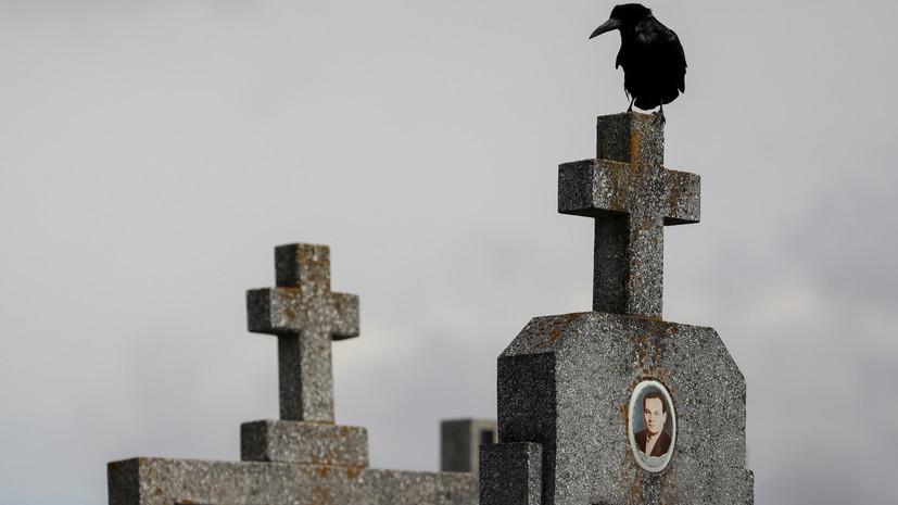 На Украине смертность в два раза превысила рождаемость