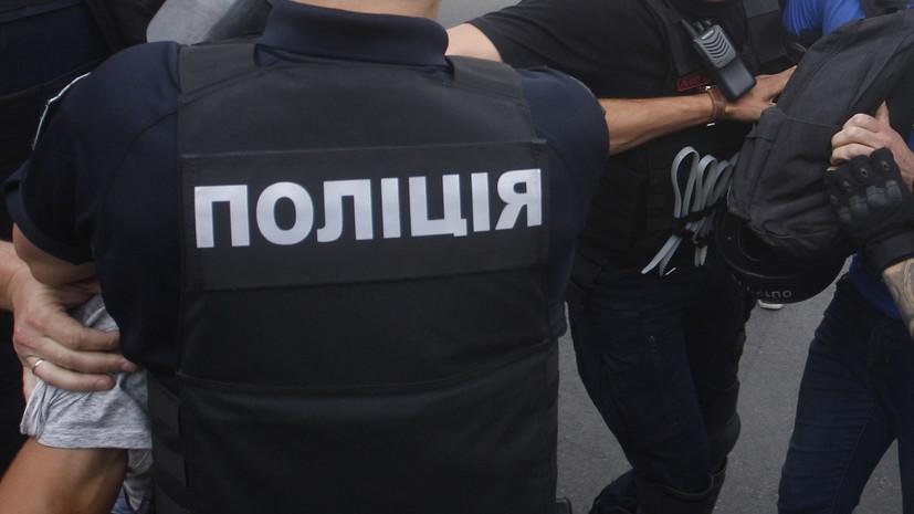 У здания Верховной рады произошли столкновения митингующих с полицией