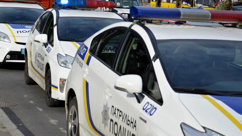 Полиция применила слезоточивый газ против участников протеста шахтёров около Рады