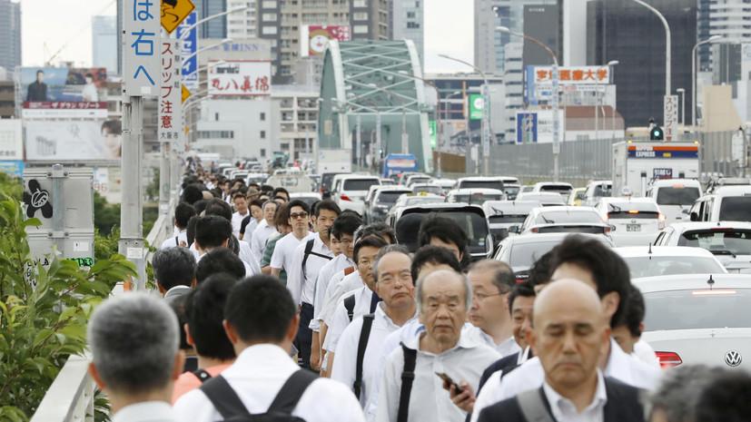 Число погибших в результате землетрясения в Японии, которое произошло 18